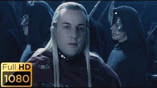 Эльфы приходят на помощь в Хельмову падь. Властелин колец: Две крепости.