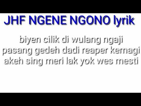 NGENE/NGONO Jogja Hip Hop Foundation Lirik