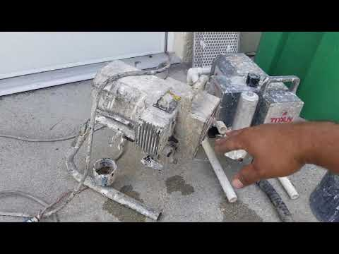 Titan 660ex running with fluid pump from 440xc - YouTube