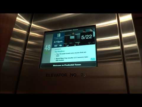 Otis High Speed Elevators at Prudential Tower Boston