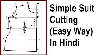 Simple Suit Cutting in Hindi