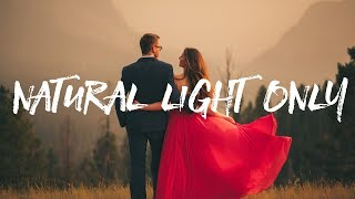 Natural Light Photography - Behind the Scenes - Engagement photo session