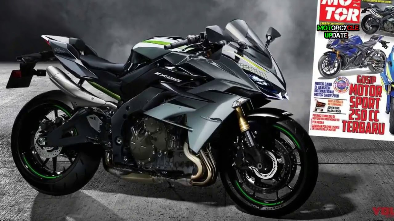 2019 Kawasaki Ninja 250 R 4 Cillynder Whether Equal To Power H2 By