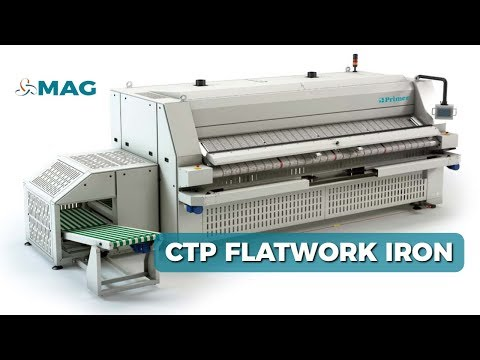 CTP Proffesional Drying Ironer Stacker Folder Options By Mag Laundry Equipment