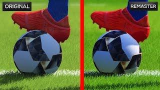 PES 2017 – Original vs Remaster PC Graphics Comparison