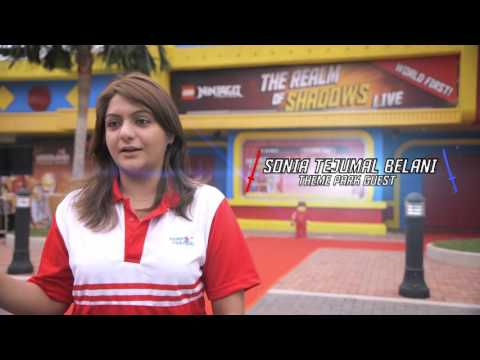 The Realm of Shadows Live at LEGOLAND Malaysia Resort - LEGO Ninjago