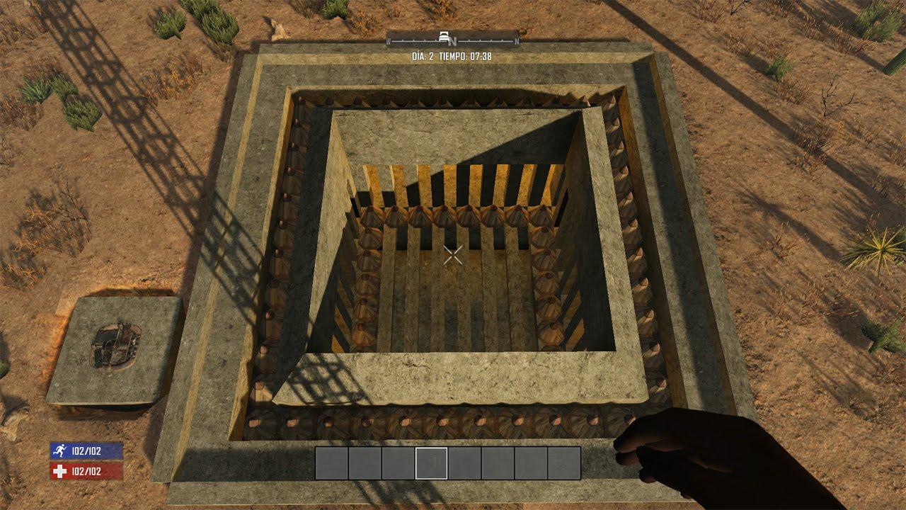 Days To Die Building Underground Alpha