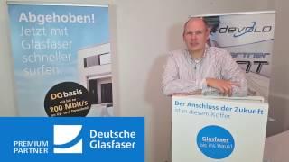 deutsche glasfaser speedtest