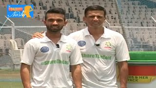 Ariel Matic With Cricketers Part 1 - Dravid, Ajinkya Rahane, Steve Smith