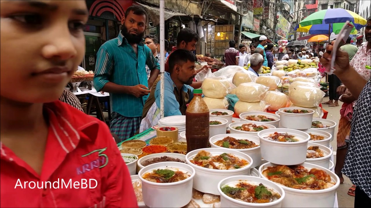 Amazing Street Food Tour To Old Dhaka Bangladesh