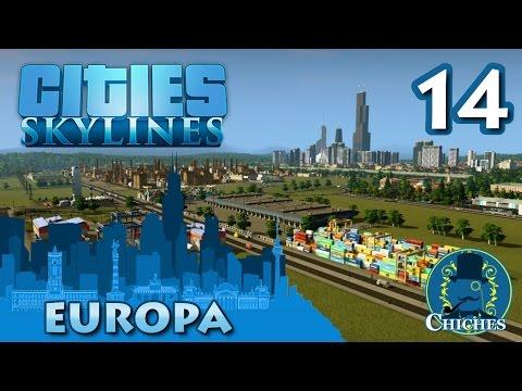 Cities Skylines - Europa - Centro de Transporte #14 en español
