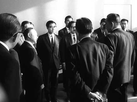Prime Minister Eisaku Sato's visit to the UNHQ (1965)