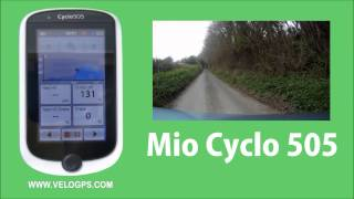 Mio Cyclo 505 HC Track Navigation