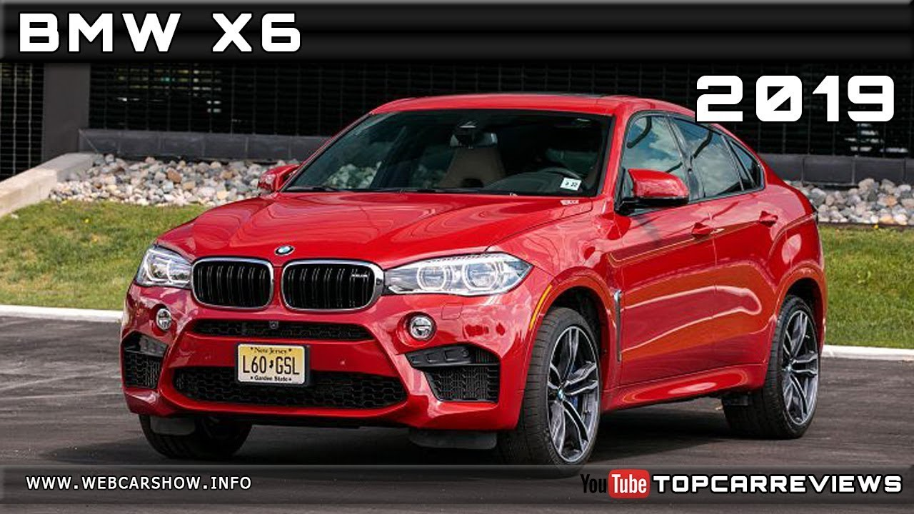 2019 Bmw X6 Review Rendered Price Specs Release Date Youtube