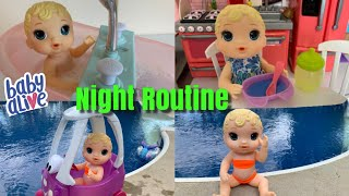 Baby Alive Kelli Night Routine videos