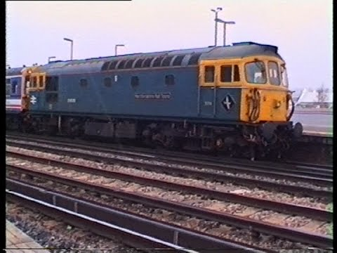 Eastleigh Station Movements in the 1990s