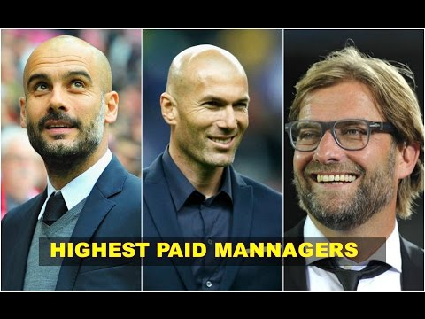 TOP 10 HIGHEST PAID FOOTBALL MANNAGERS  (2017)