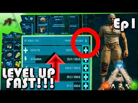 Level Up Fast(EASY!) Ep.1- Solo Let's Play MrsTraa PvP Server- Ark Survival Evolved Xbox One- Kam25