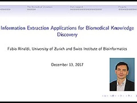 Fabio Rinaldi  Information Extraction Applications for Biomedical Knowledge  Discovery 6f95517a9a0