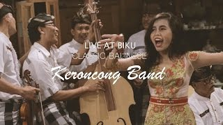 Classic Balinese Keroncong Band - Live at Biku