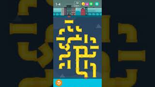 Level 4 of ṗipes game in Smart puzzle collection game