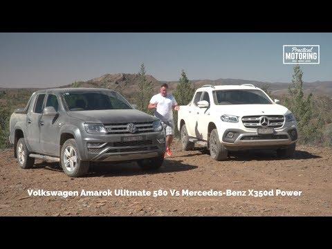 831dab119f Volkswagen Amarok Ultimate 580 Vs Mercedes Benz X350d Power - YouTube