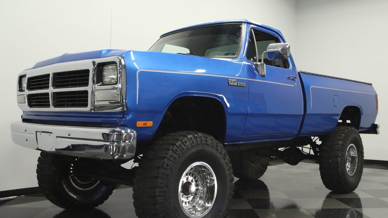 93 Dodge Cummins >> 663 Tpa 1993 Dodge Power Ram 250