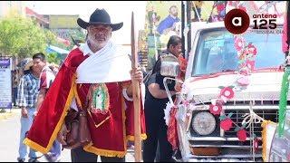 Celebran a San Isidro Labrador con paseo de la agricultura en Metepec