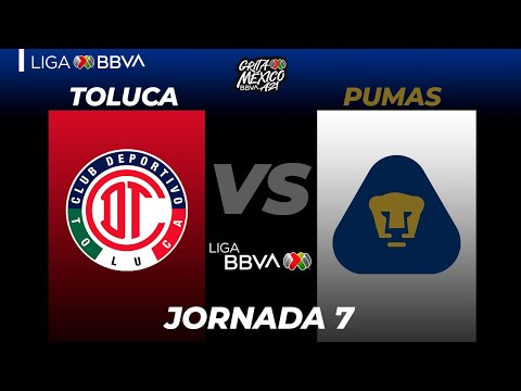 Toluca U.N.A.M. Pumas Goals And Highlights