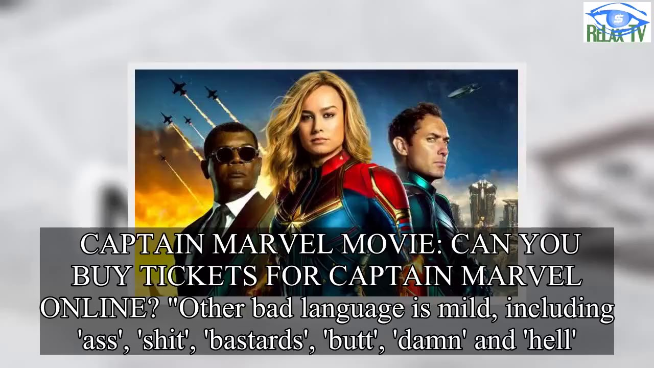 captain marvel age rating: how old do you have to be to see captain
