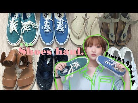 데일리 여름 신발 8가지 추천! (나이키 에어리프트, 컨버스, 반스, 자라 샌들, 버켄스탁, 하바이아나스)   신발하울 쪼리 샌들 클래식 운동화ㅣ지혜사랑