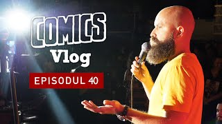 Stand-up pe ploaie | Comics VLOG #40