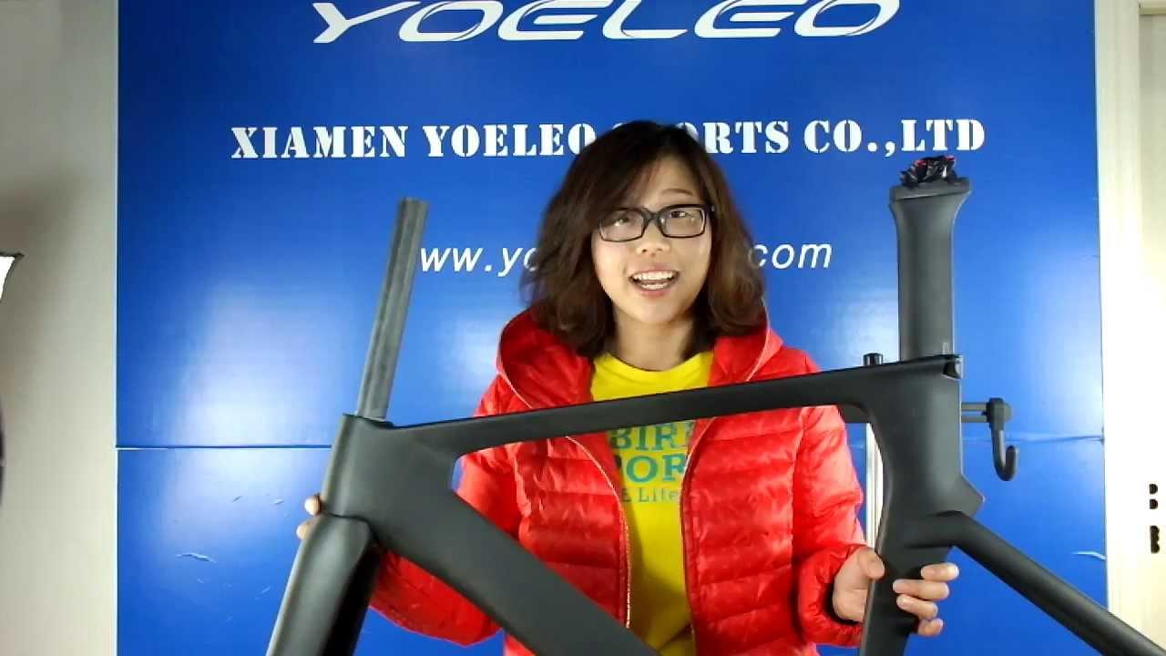 Carbon Track Frame Track Bicycle Frame In Ud Carbon Weave Matt