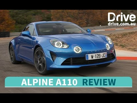 2018 Alpine A110 First Drive Review   Drive.com.au - Dauer: 6 Minuten, 1 Sekunde