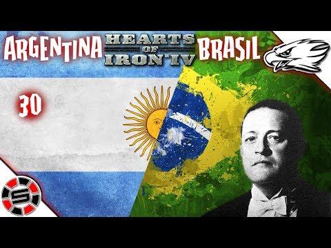 SETTING UP DEFENSE ~ HoI IV ~ Argentina & Brasil ep30