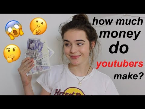 HOW TO MAKE MONEY ON YOUTUBE + HOW MUCH SMALL YOUTUBERS MAKE!!!