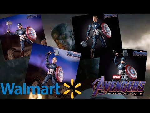 Marvel Legends Walmart Exclusive Avengers Endgame Captain America Revealed