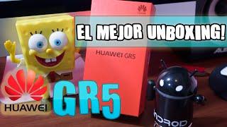 EL MEJOR UNBOXING - HUAWEI GR5 - HONOR 5X