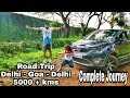 DELHI to GOA/ Adventure of a lifetime/ ROAD TRIP with BABY/ Traveler baby/ Tata Hexa