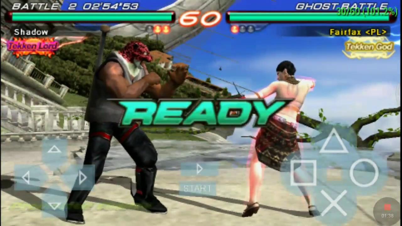 Tekken Emperor Promotion Match Tekken 6 Ppsspp Mobile Android