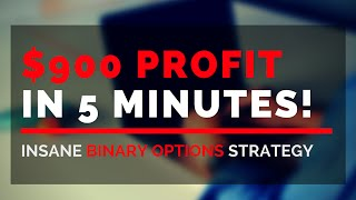$900 in 5 mins! CRAZY MATH TRICK (BEST Trading Strategy)