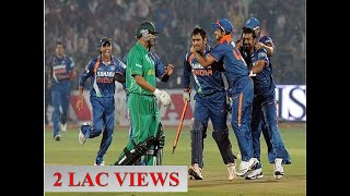 India's all nail biting victories in cricket ! Thrilling finish