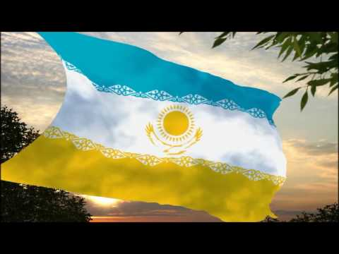 A New Proposed Flag for Kazakhstan [HD]