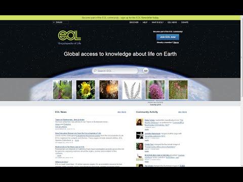 The Encyclopedia of Life: Demystifying Biodiversity Data Through Open Access