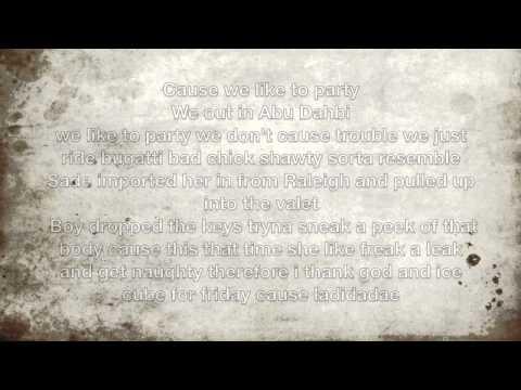 Party-Beyonce Ft Jcole lyrics