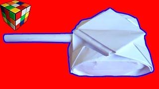 Оригами Танк. Как сделать танк из бумаги своими руками. Поделки из бумаги(Учимся рукоделию! Как сделать танк из бумаги! Танк Origami своими руками! Игрушка для деток! Всё поэтапно и дост..., 2015-11-29T14:43:14.000Z)
