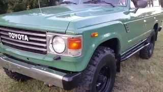 1984 fj60 Toyota Land cruiser restored 5 speed