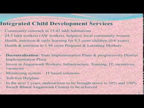Presentation of Union Ministry of Women & Child Development