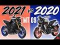 Yamaha Mt 09 2020 Vs 2021 (side By Side Comparison!)