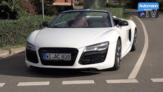 Audi R8 V10 Spyder (525hp) - DRIVE & SOUND (60FPS)